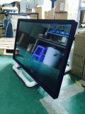 43インチのオールインワンパソコンを(人間の特徴をもつ)広告する赤外線タッチ画面ネットワーク