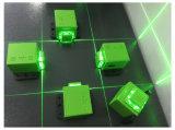 Vermelho verde linha módulos Customerizable do PONTO de 360 graus do laser