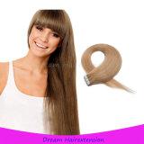Remy 4cmx1cmのサイズのヨーロッパの毛の拡張の人間テープ毛