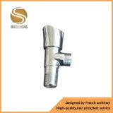Cuadrado de China Standrad/válvula de ángulo de cobre amarillo del baño
