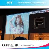 P5 y P8 y P10 a todo color de alta transparente LED Relación de visualización en pantalla