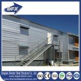 Diseño de la casa de la granja avícola de la parrilla de la estructura de acero/vertiente del pollo