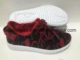 卸し売り子供のサイズのキャンバスの注入の靴、子供のカスタマイズされるを用いる偶然のスポーツの靴(FFCS111906)
