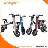 بالغ يطوي درّاجة كهربائيّة مع [ألومينوم لّوي] و [بنسنيك] بطّاريّة