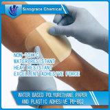 Wasserbasiertes Polyurethan-Papier und Plastikkleber (PU-802)