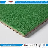 Rodillo material del suelo de la estera del caucho sintetizado de la escuela del campo de deportes