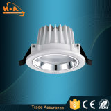 Alluminio bianco muto SMD LED Downlight dell'indicatore luminoso molle