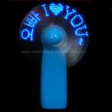 Heiße Textmassage Ventilatoren der Verkaufs-Matrix-LED mit Firmenzeichen gedruckt (3509)