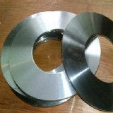 Lámina circular de la guillotina para el corte plástico de papel que raja la máquina de la desfibradora