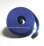 Material de nylon de volta ao gancho de gancho traseiro e laço de cabo de loop