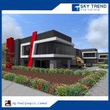 Fábrica profesional de la estructura de acero de China con las oficinas