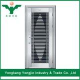 Входная дверь нержавеющей стали высокого качества с системой безопасности