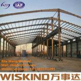 Magazzino prefabbricato del blocco per grafici della struttura d'acciaio, costruzione d'acciaio