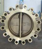 Al-Bronze Oblate-Öse-Doppelplatten-Rückschlagventil