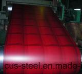 Bobina galvanizada prepintada del hierro de la hoja de acero PPGI