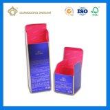 Casella impaccante cosmetica di lusso di Skincare dell'oro del documento su ordinazione della scheda (grande fabbrica impaccante di stampa)