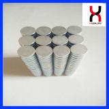 Uitstekende kwaliteit 6*3mm Neodymium Gesinterde Magneet NdFeB