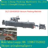 Voll automatische kontinuierliche frische Fisch-vakuumverpackende Maschine der Ausdehnungs-Dlz-420