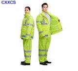 Police Reflective Raincoat
