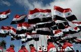 カスタムSunproofの国旗のシリアの国旗モデルNo.防水すれば: NF-045