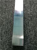 Polished personnalisé anodisé dans le profil en aluminium argenté d'extrusion