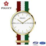 Le Suisse a fait la montre de mode de pièces de montre avec la courroie de l'OTAN