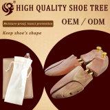 Arbre en bois de chaussure de vente en gros d'usine de la Chine, arbre de chaussure employé couramment