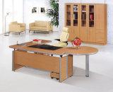 أنيق خشبيّة تواضع لون [مدف] [إإكسكتيف وفّيس] طاولة /Desk ([هإكس-2501])
