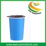 Bequemer doppelter geummauerter 10 Ounce/300ml Arbeitsweg-Kaffee-Getränk-Becher mit Drehkappe