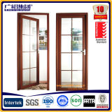 内部アルミニウムガラス振動によって蝶番を付けられるドア