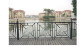 Balcón de acero galvanizado decorativo de alta calidad 27 que cercan con barandilla de la aleación de Haohan Alluminum