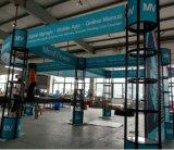 Modèle et construction cosmétiques créateurs de cabine d'exposition de la Chine