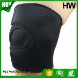 高品質のネオプレンの伸縮性があるスポーツの圧縮のKneepad (HW-KS010)