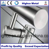 Corchete de la barandilla del acero inoxidable al tubo con la tapa plana recta