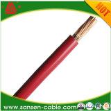 Único condutor de cobre desencapado contínuo, H05V2-U, Ce Certificated, único fio do núcleo, cabo distribuidor de corrente 6 mm2 feito em China