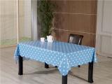 Caraterística impermeável impressa PVC desobstruída de Oilproof do Tablecloth transparente da alta qualidade (TJ0155)