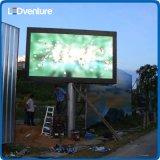 Parede gigante do vídeo do diodo emissor de luz da cor ao ar livre de Ful