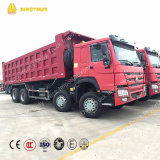 Sinotruk Marca Euro 2 Diesel Engine 371HP 8X4 Dump Truck