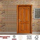 手によって切り分けられる米国式部屋の木のパネル・ドア(GSP2-055)