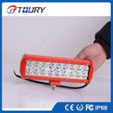Barra ligera doble de la fila 54W LED para la iluminación de la conducción de automóviles del carro