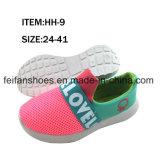 Les chaussures de toile d'injection de chaussures occasionnelles de Slip-on d'enfants vendent en gros (FFHH-092610)