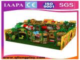 Ontwerp van de Speelplaats van de Jonge geitjes van het Thema van het plattelandshuisje het Binnen (ql-1111O)
