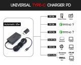 Напечатайте заряжатель на машинке 45W Pd c для компьтер-книжки HP DELL Lenovo