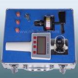 para o anemómetro do tampão do laboratório de física e o anemómetro da brisa clara