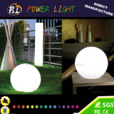 RGBは屋内および屋外の革新的なコードレスLEDの球の変更を着色する