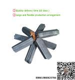 機械に六角形のバーベキューの木炭をする洪Qiangの木炭