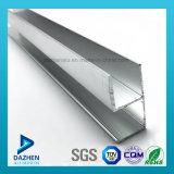 Perfil personalizado anodizado do alumínio 6063 da mobília