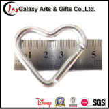 Heart-Shaped 알루미늄 물자 Keychain