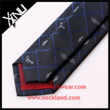 Laços tecidos 100% de seda Handmade da garganta da música para homens