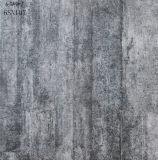 Azulejo gris mate antideslizante de la porcelana del suelo del cemento del nuevo suelo interior del diseño (600X600m m)